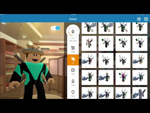 ROBLOX Avatar Glitch Demonstration ( Expired, may not work )