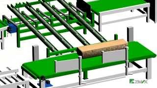 Automatic Wood Processing Line