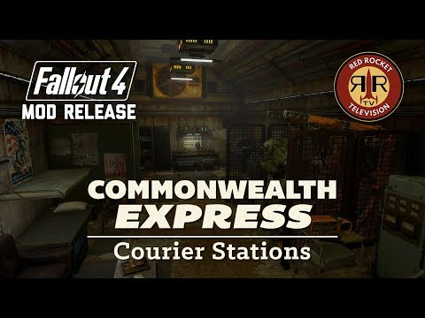 Commonwealth Express Courier Stations at Fallout 4 Nexus - Mods and