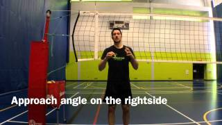 Volleyball Tip #26: The Rightside Approach
