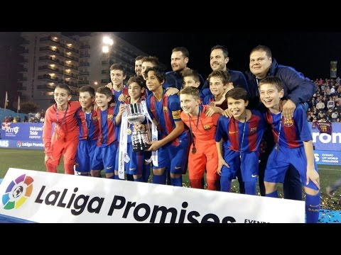 [ESP] FINAL LALIGA PROMISES: FC Barcelona (Infantil B) - Atlético de Madrid (6-1)