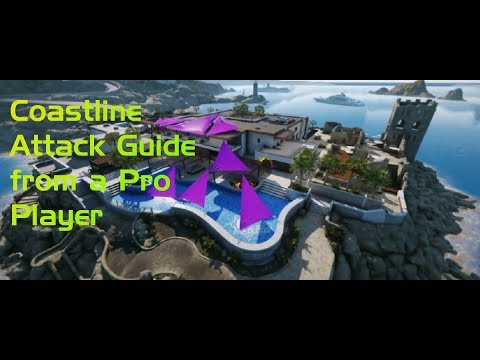 Coastline Attack Guide from a Pro Player! All 4 Sites Covered!