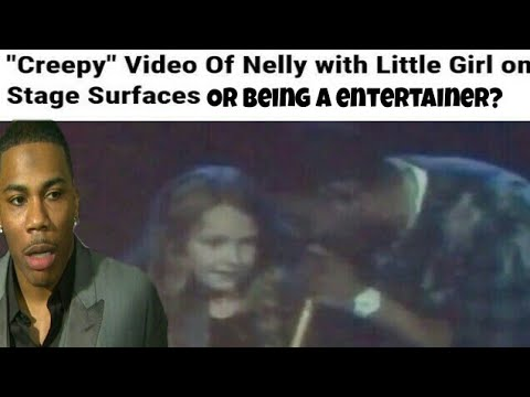 """Nelly Under Fire As """"Creepy"""" Video Of Nelly Singing To Little Girl On Stage Surfaces"""