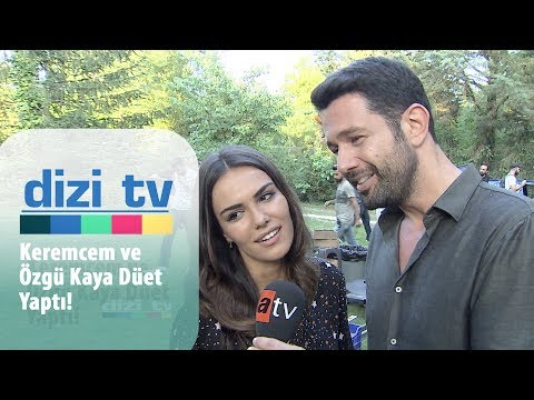 Keremcem ve Özgü Kaya düet yaptı! - Dizi Tv 643. Bölüm
