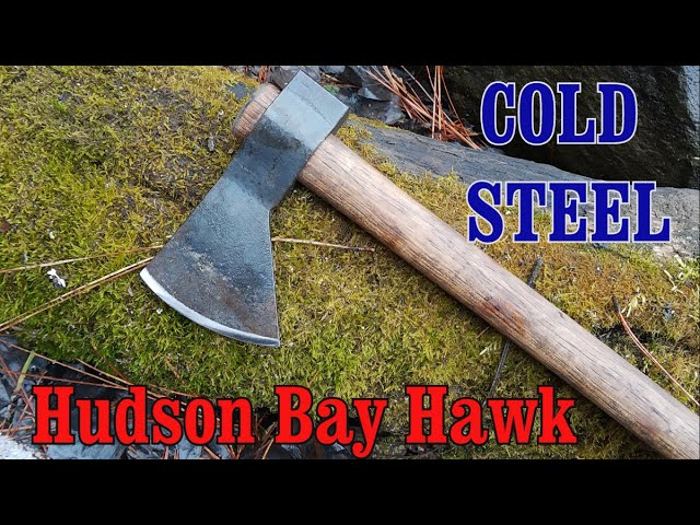 Battle-Merchant Cold Steel Hudson Bay Tomahawks Axt mit Hickoryholz Griff
