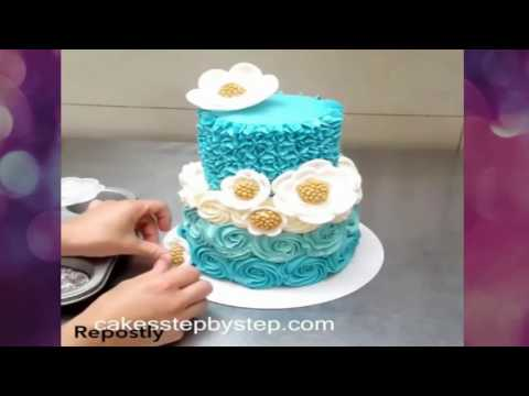 The Most Satisfying Video In The World Cake Decorating Tutorials Video - Amazing Cakes Decorating