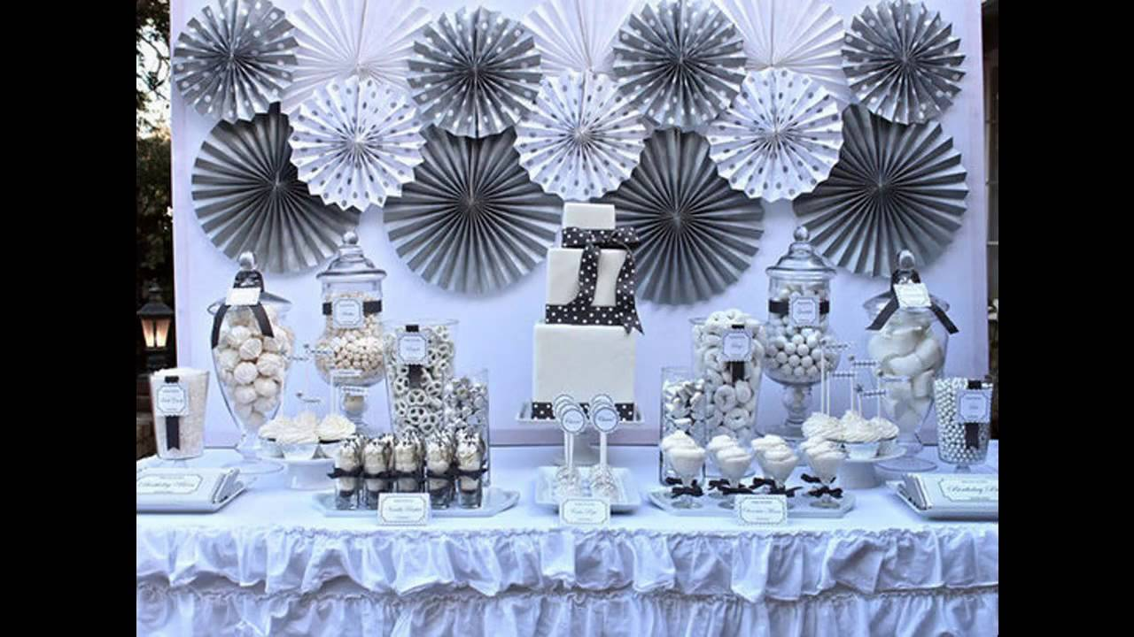 Beautiful Winter Birthday Party Decorations Ideas Youtube