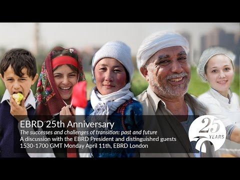 EBRD 25th Anniversary discussion