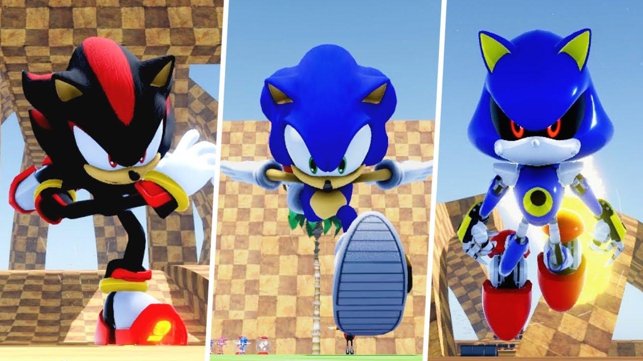 Sonic Infinity DX 2.0: Adventure Sonic, Metal Sonic + More!