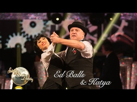 Ed Balls and Katya Jones Quickstep to 'Help!' by The Beatles - Strictly 2016: Week 7