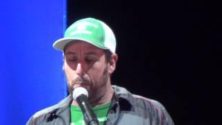 Adam Sandler - Medium Pace - 2013 Festival Supreme