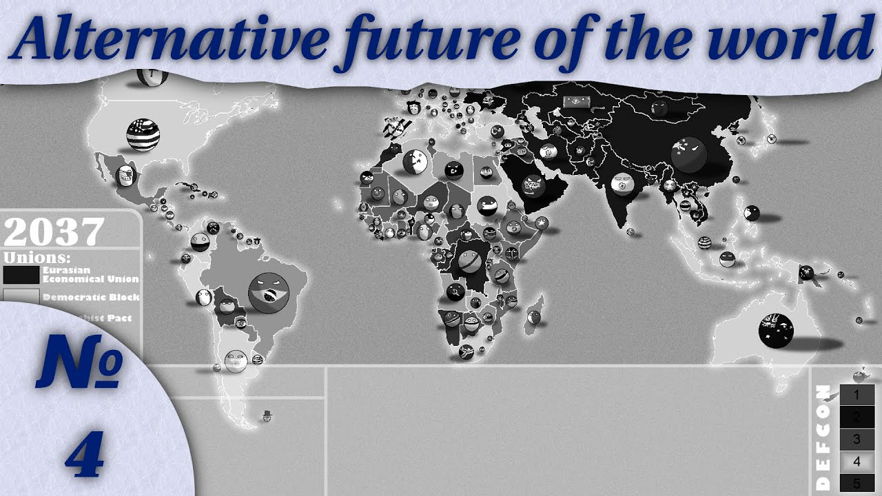 Alternative future of the world – part 4 (a new map)