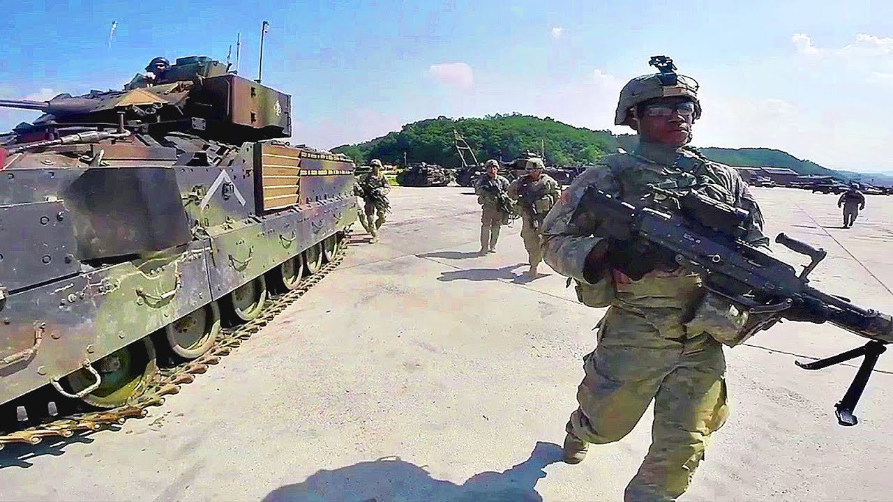 U.S. Army Cavalry   Dismounted Operations   YouTube