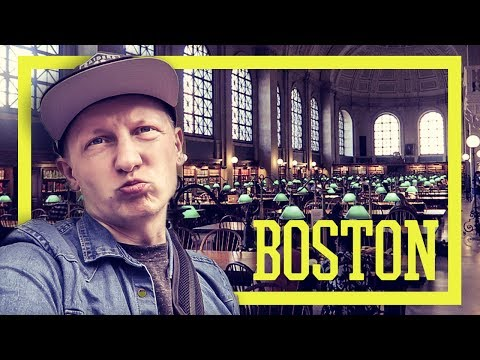 Boston Trip 2017 - HISTORISCH - Freedom Trail, Public Library, Skywalk [VLOG]