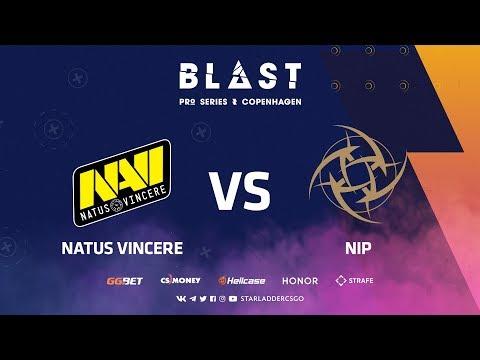 [RU] Natus Vincere vs NiP | Nuke | BLAST Pro Series: Copenhagen 2019