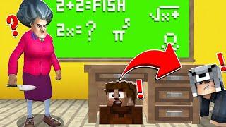 KORKUNÇ ÖĞRETMENDEN SAKLANABİLEN KAZANIR! 😱 - Minecraft