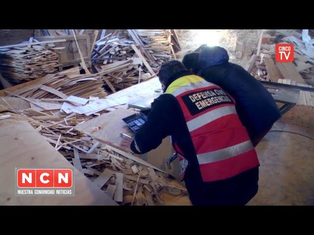 CINCO TV - Las Tunas: Tigre clausuró una fábrica de muebles sin habilitación