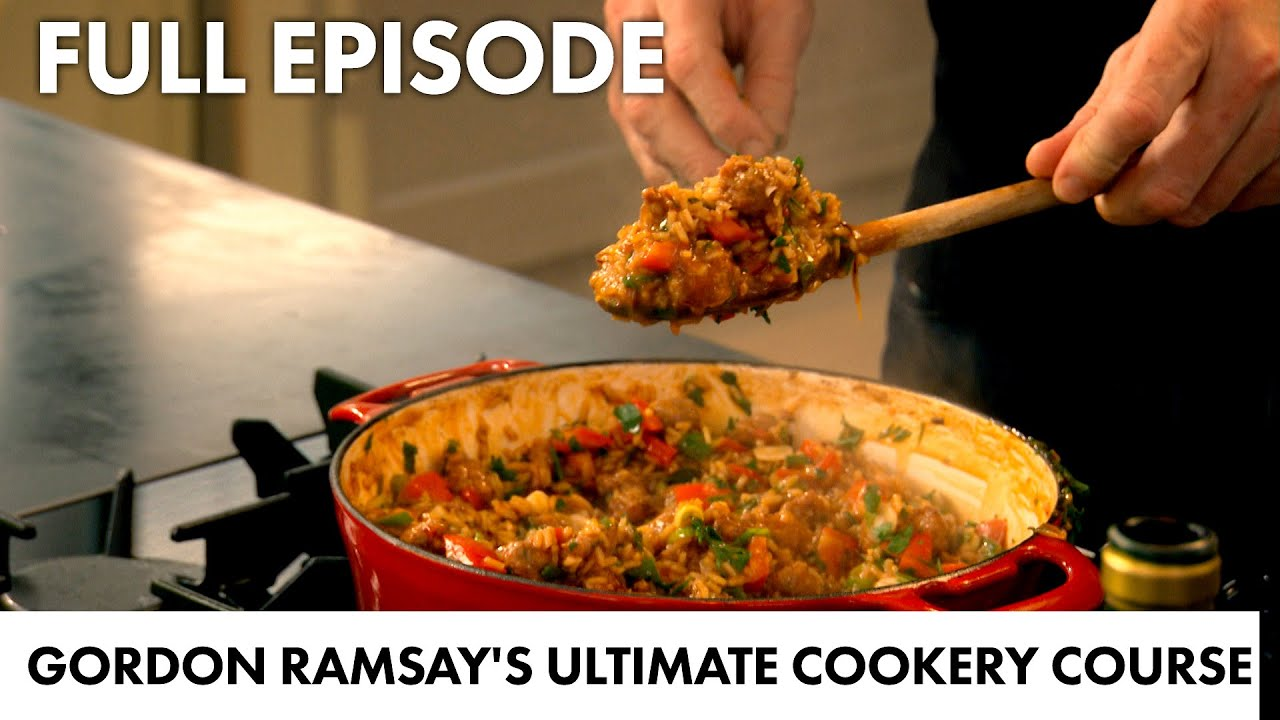 Gordon Ramsay's Spicy Sausage Rice Recipe | Ultimate Home Cooking FULL EPISODE