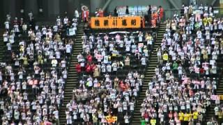2011 10/4 日ハムVS楽天 稲葉の応援.