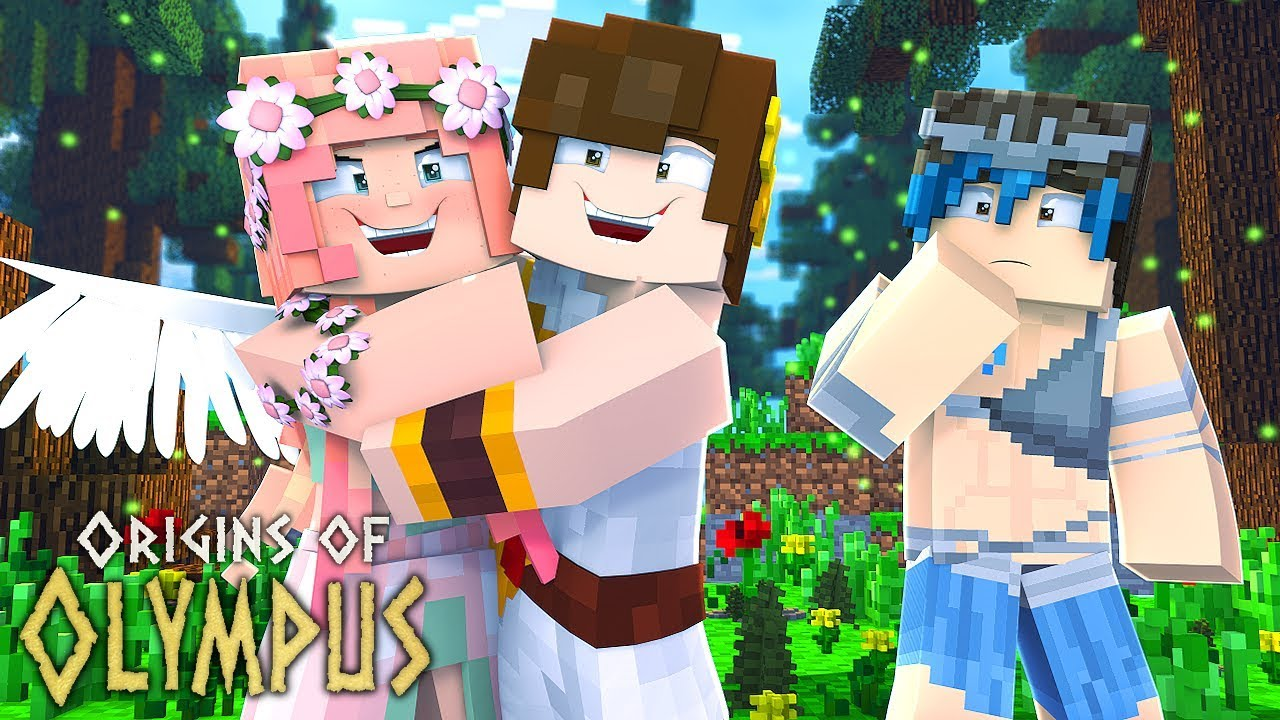 """Download Minecraft Origins of Olympus - """"DAUGHTER OF APHRODITE!"""" #9 (Minecraft Percy Jackson Roleplay)"""
