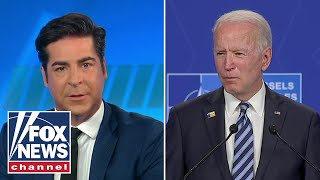 Jesse Watters: Biden seems confused, I don't see him doing well with Putin