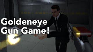 Goldeneye Gun Game! - Goldeneye Source Gameplay