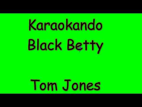 Karaoke Internazionale - Black Betty - Tom Jones ( Lyrics )