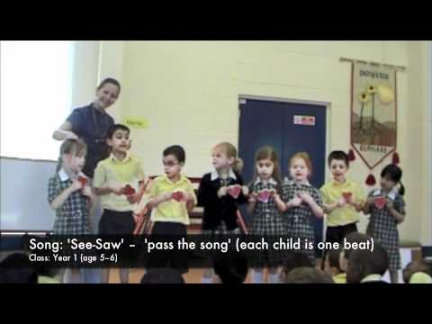 Jolly Music in Action - Year 1, pulse work with 'See-Saw'