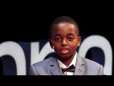 The world through the eyes of a child | Joshua Beckford | TEDxVienna