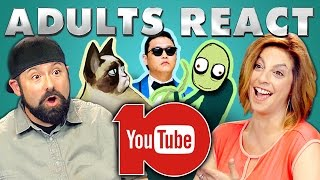 ADULTS REACT TO YOUTUBE'S 10th ANNIVERSARY(YouTube's 10th Anniversary Bonus video on the REACT channel: https://goo.gl/T9X8Wa NEW Videos Every Week! Subscribe: http://goo.gl/nxzGJv Watch all ..., 2015-07-16T19:00:06.000Z)
