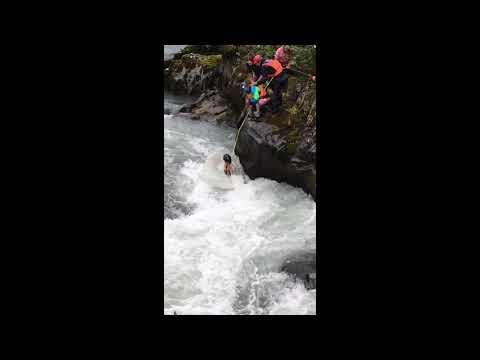 Bystander Saves Kayaker in Daring Rescue in Six Mile Creek, Alaska