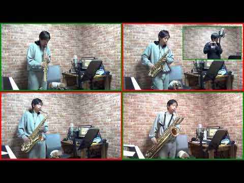 John Rutter - Shepherd's Pipe Carol - Saxophone Quartet + Flute, Piccolo Cover