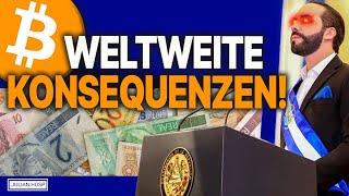 ACHTUNG: #BITCOIN OFFIZIELLES GELD IN EL SALVADOR!!