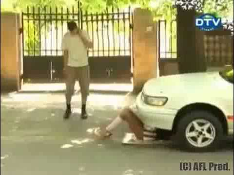 Naked And Funny Nude Car Mechanic