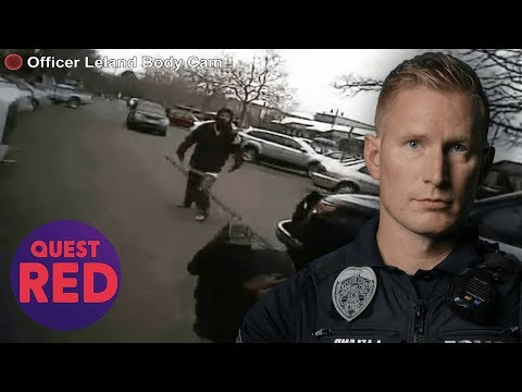 Police Officer Shooting Armed Suspect Caught On Camera | Body Cam