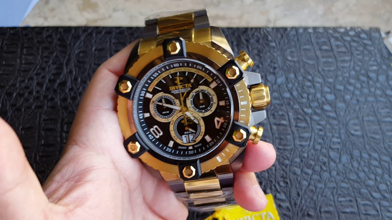 2cd4d1e4736 Relógio Invicta Grand Arsenal Cronógrafo Suíço 63mm Ronda 8040 13044 ...