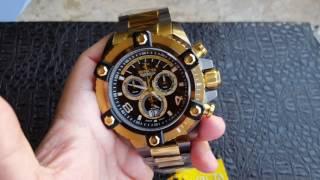 7c866622223 Relógio Invicta Grand Arsenal Cronógrafo Suíço 63mm Ronda 8040 13044