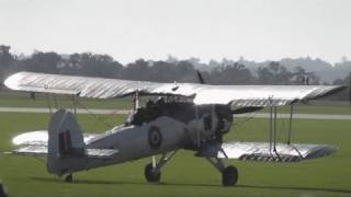 Swordfish , Seafire , Sea Hawk and Sea Fury at Duxford 10th Oct 2010