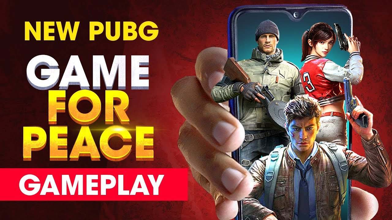 GAME FOR PEACE GAMEPLAY - New PUBG Mobile!! How To Download (Hindi)