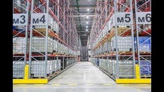 видео Стеллажи и оборудование для склада