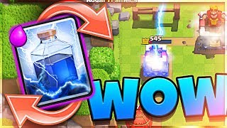 Lightning CYCLE wins LADDER :: Clash Royale Molt