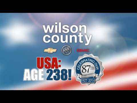 JULY SAVINGS DURING WILSON COUNTY MOTORS 87TH ANNIVERSARY SALE COMMERCIAL