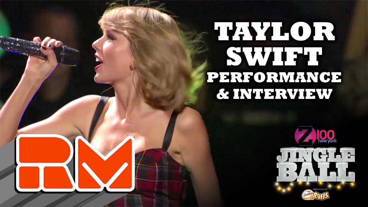 Taylor Swift Live Performance at Z100's Jingle Ball (RMTV ...