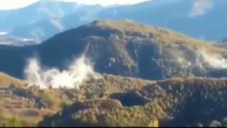 Terremoto in Italia: la scossa più forte in diretta dalle montagne (30/10/2016) Earthquake in Italy