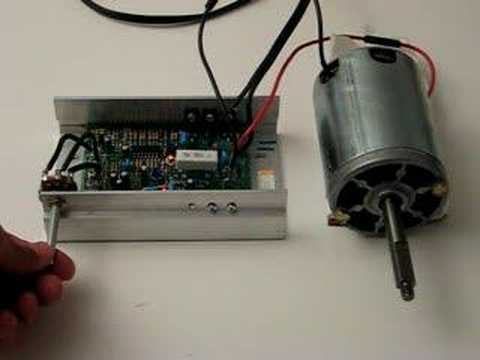 hp dc motor pwm speed control