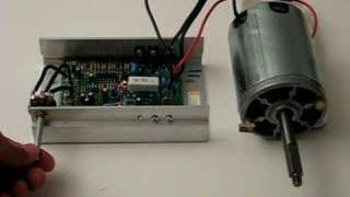 1/2 hp DC motor + PWM speed control