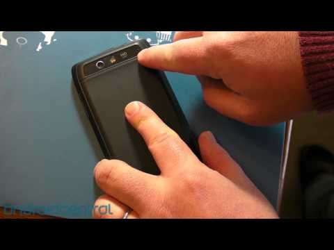 Motorola Droid 4 battery door unlock
