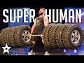 SUPERHUMAN WEIGHTLIFTER Deadlifts 8 Tires on Portugal's Got Talent | Got Talent Global