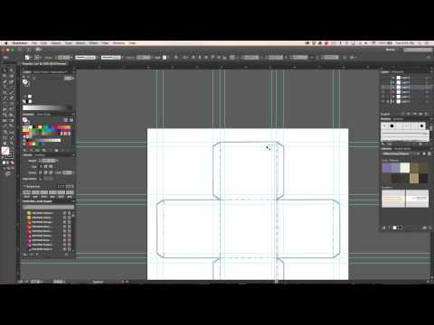 Illustrator: Creating Package Template