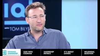 Simon Sinek on How to Get People to Follow You - Inside Quest Show Legendado